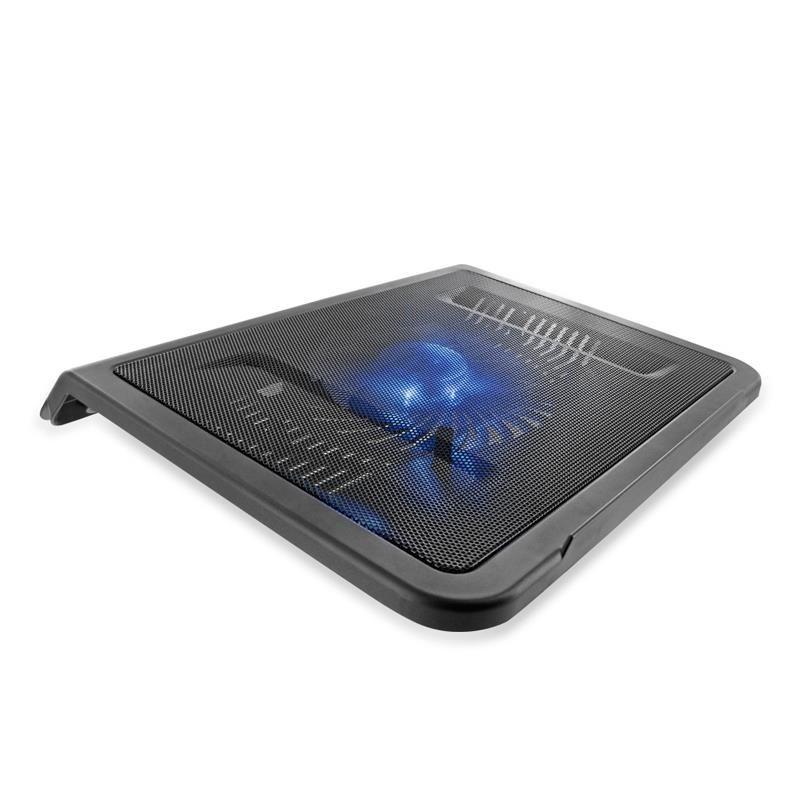 Notebook laptop hűtő - nagy ventilátor 16cm (07634)