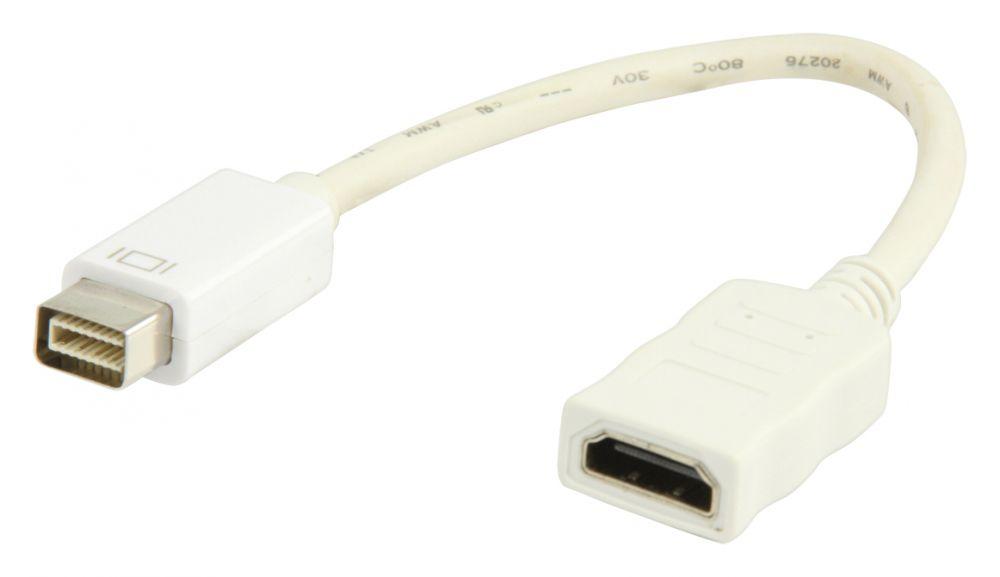 Valueline mini DVI - HDMI átalakító 20cm