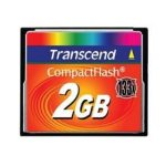 Transcend Compact Flash 2GB High Speed 133x memóriakártya (TS2GCF133)