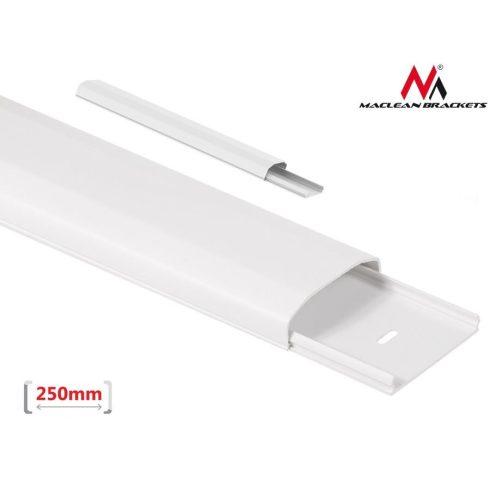 Maclean műanyag kábelcsatorna 60x20x250mm fehér (MC-694 W)