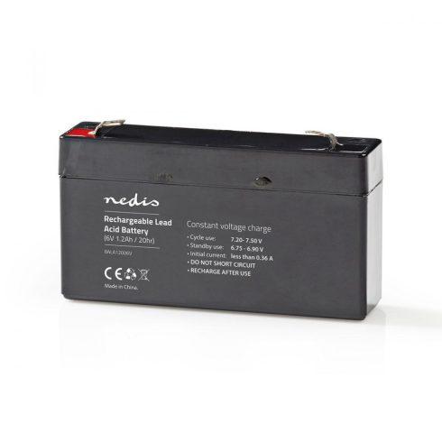 Zselés akkumulátor 6V 1.2Ah