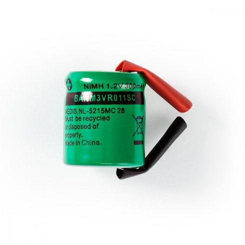 NiMh forrsztható akkumulátor 1.2V 300mA