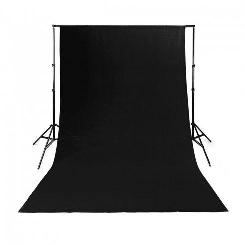 Fotós háttér 3x3 m fekete