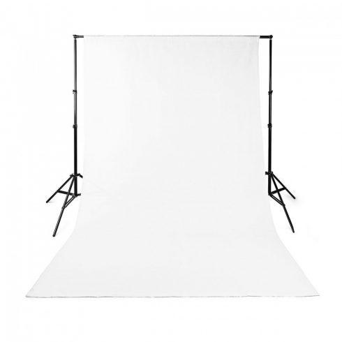 Fotós háttér 3x3 m fehér