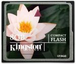 Kingston Compact Flash 8GB memóriakártya (CF/8GB)