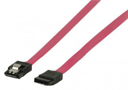 SATA 1,5 Gb/s Adatkábel zárral   0,5 m
