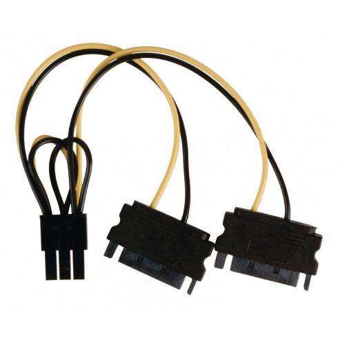 SATA kábel   2x SATA 15 pin - PCI Express   0,15 m