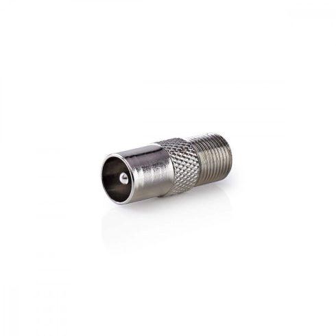 Koax dugó - F aljzat adapter (10db)