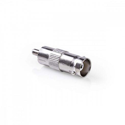 RCA - BNC adapter | RCA dugó / BNC aljzat (10db)