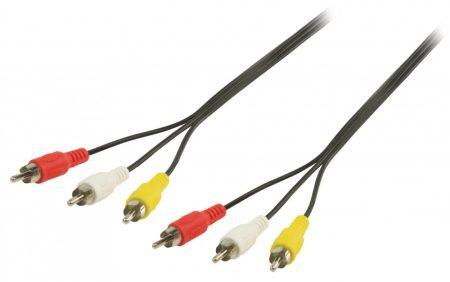 3 RCA kábel 2m