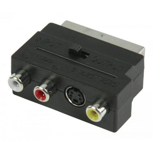 Scart - RCA - S-video átalakító