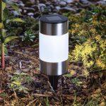 LED szolár kerti lámpa - 13 cm
