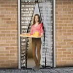 Szúnyogháló ajtóra 100 x 210cm feliratos