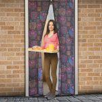 Szúnyogháló ajtóra 100 x 210cm baglyos