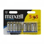 Maxell AA Ceruza elem (5+5db)