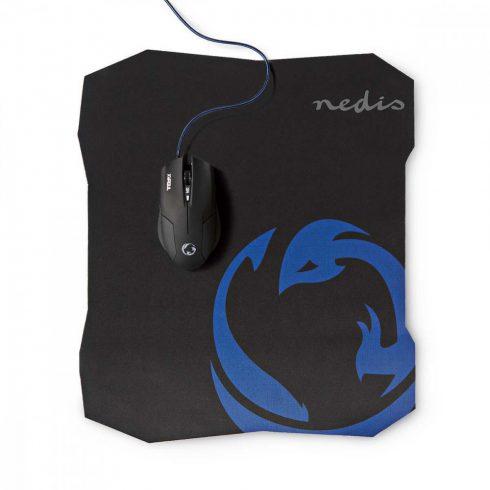 Nedis Gaming egér 1600 DPI 6 gomb + egérpad