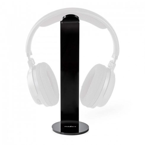 Asztali fejhallgató állvány 87 x 244 mm   Fekete (HPST100BK)