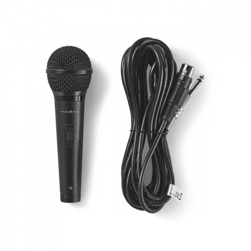 Nedis dinamikus mikrofon 85 Hz - 11 kHz | 5m vezeték
