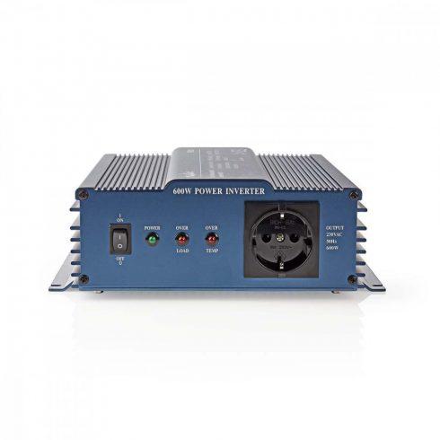 Nedis tiszta szinusz inverter 600W - 12/220V
