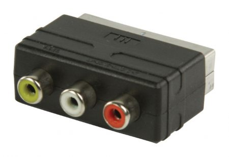 Scart RCA adapter