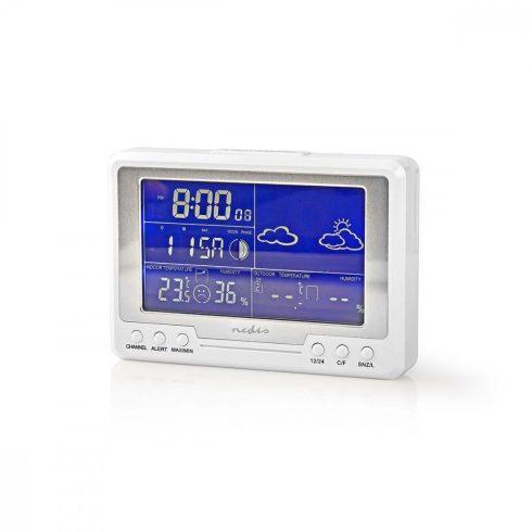 Nedis időjárás állomás kültéri hőmérővel