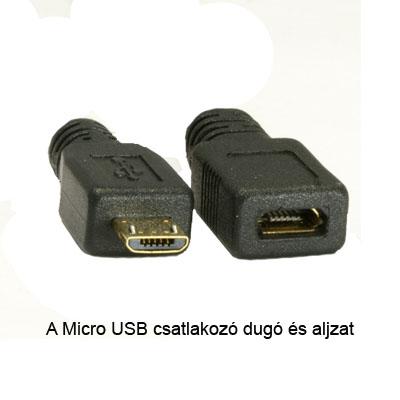 Micro USB csatlakozó